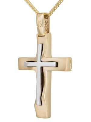 Σταυρός βάπτισης για αγόρι ΣΤ38694