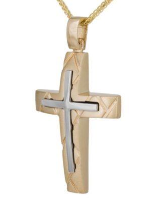 Σταυρός βάπτισης για αγόρι ΣΤ38681