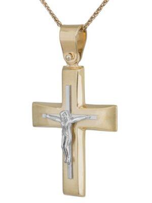 Σταυρός βάπτισης για αγόρι ΣΤ38525