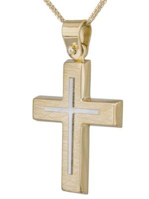 Σταυρός βάπτισης για αγόρι ΣΤ38460