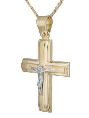 Σταυρός βάπτισης για αγόρι ΣΤ38457