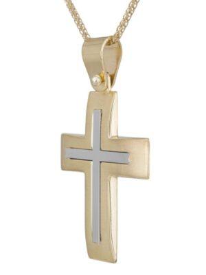 Σταυρός βάπτισης για αγόρι ΣΤ38456