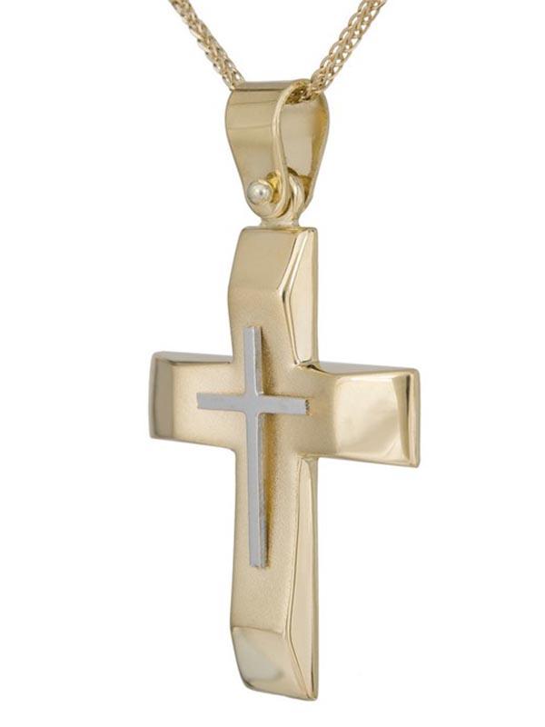 Σταυρός βάπτισης για αγόρι ΣΤ38448