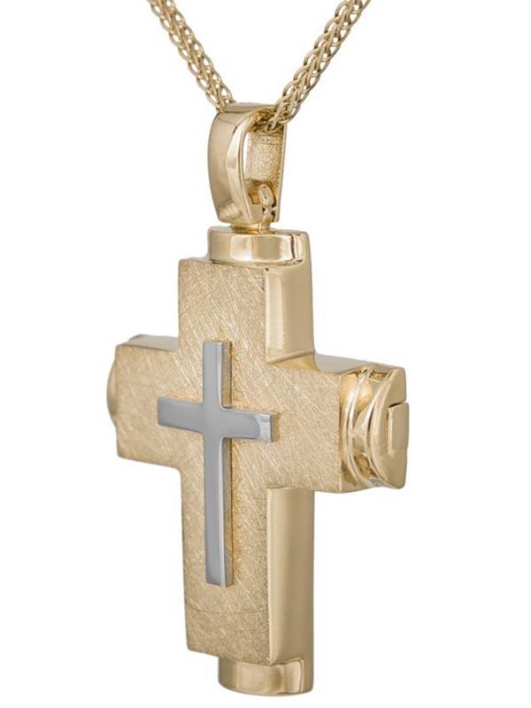 Σταυρός βάπτισης για αγόρι ΣΤ38273