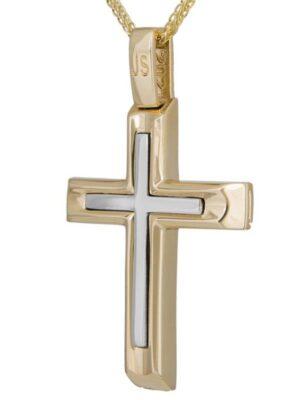 Σταυρός βάπτισης για αγόρι ΣΤ38696