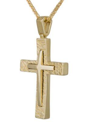 Σταυρός βάπτισης για αγόρι ΣΤ36633