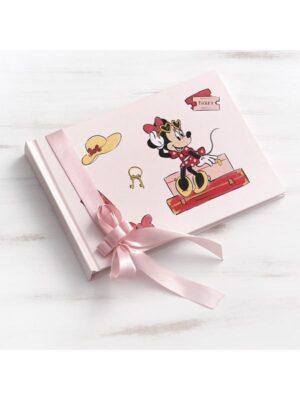 Βιβλίο ευχών βάπτισης Minnie Travel