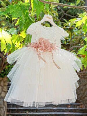 Φόρεμα βάπτισης για κορίτσι D6055