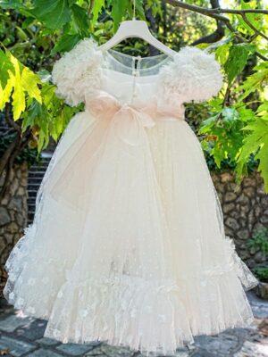 Φόρεμα βάπτισης για κορίτσι D6053