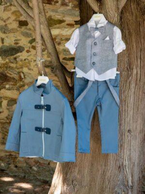 Κοστούμι βάπτισης για αγόρι D3011X