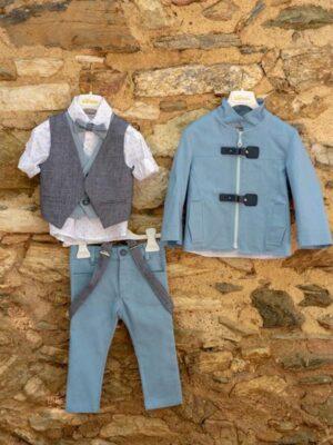 Κοστούμι βάπτισης για αγόρι D3006