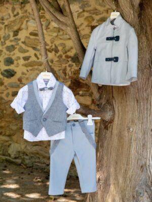 Κοστούμι βάπτισης για αγόρι D3001